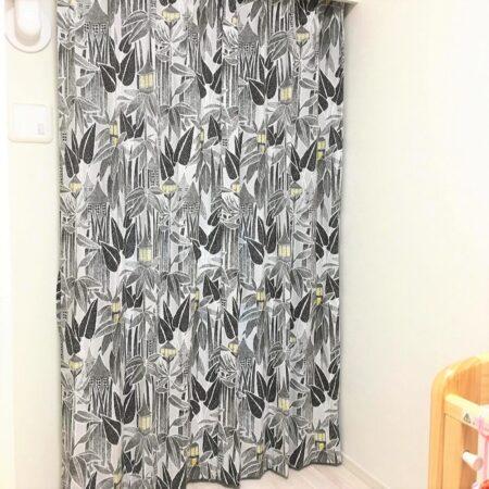 ムーミン、カーテン、オーダーカーテン、綿、自然素材